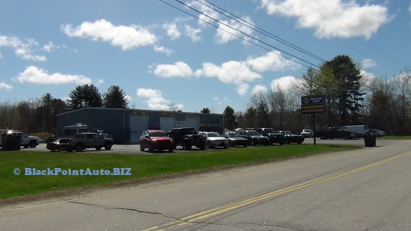 Black Point Auto & Towing - shop view from the left