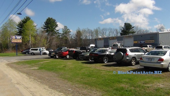 Black Point Auto & Towing - shop view from the right